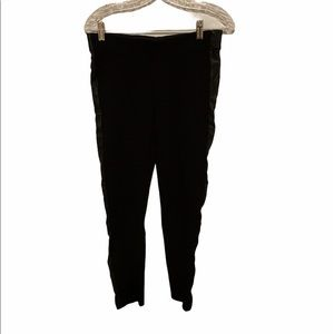 ZARA Leather Side Pants Trafaluc Collection